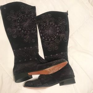Women's Embroidered Artemis Boots, Size 39